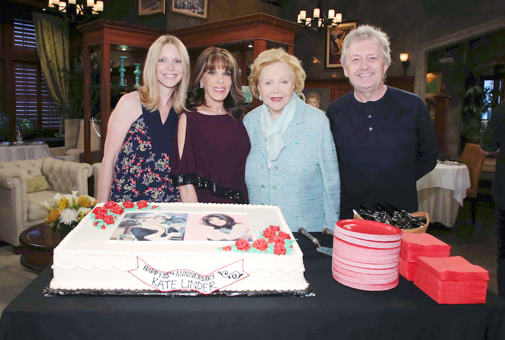 The Young and The Restless Lauralee Bell Kate Linder Lee Phillip Bell Mal Young