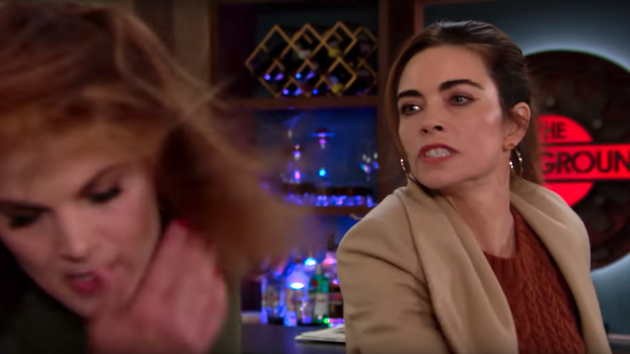 The Young and the Restless Victoria slaps Phyllis
