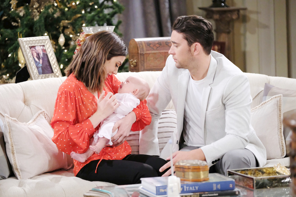 Days of Our Lives Abigail Chad Charlotte