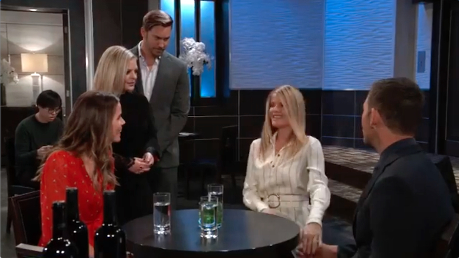 General Hospital Sasha Maxie Peter Nina Valentin