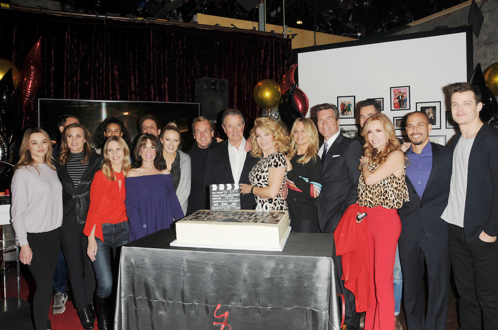 The Young and The Restless Melody Thomas Scott Anniversary party