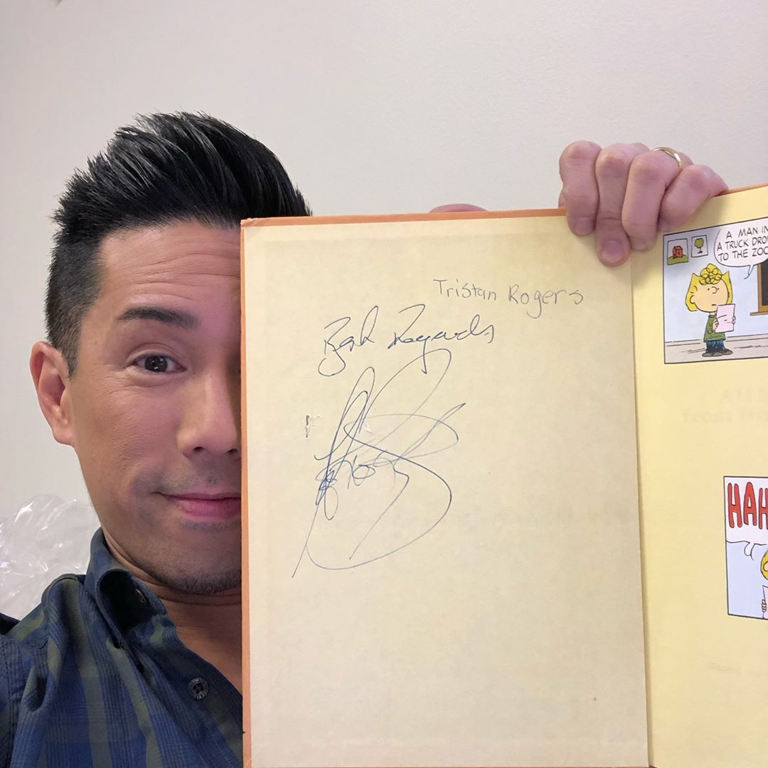 Parry Shen Tristan Rogers Autograph