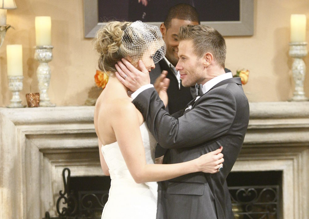 The Bold and The Beautiful Caroline Rick wedding