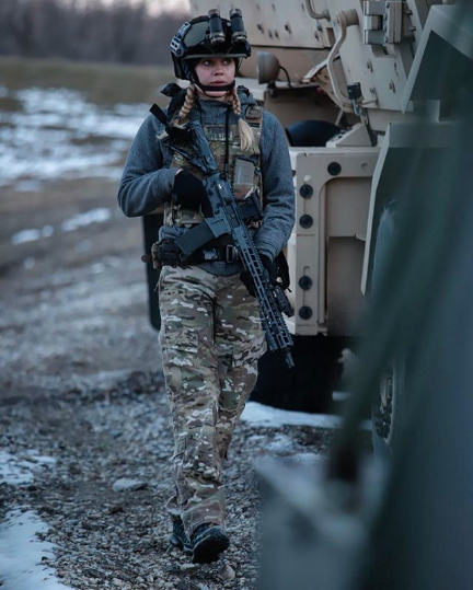 Carly Schroeder Army