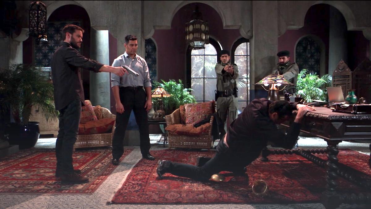 General Hospital Dante shot Sonny
