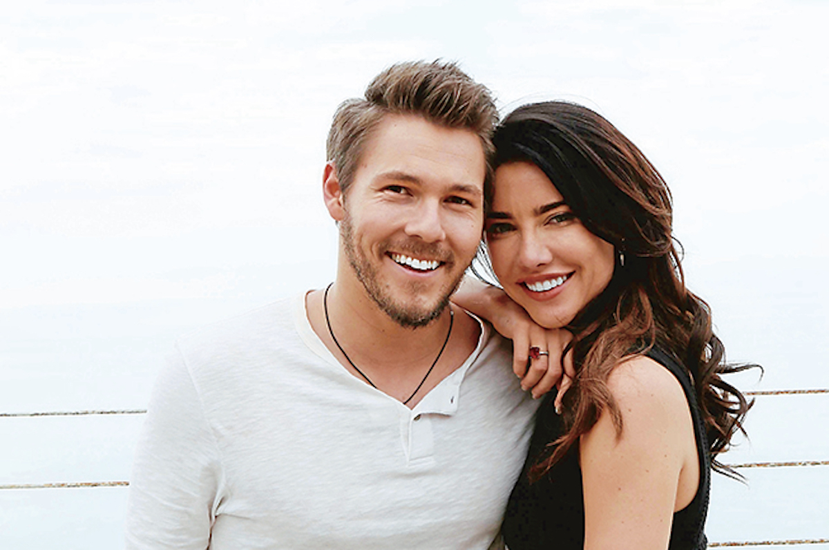 The Bold and The Beautiful Scott Clifton Jacqueline MacInnes Wood