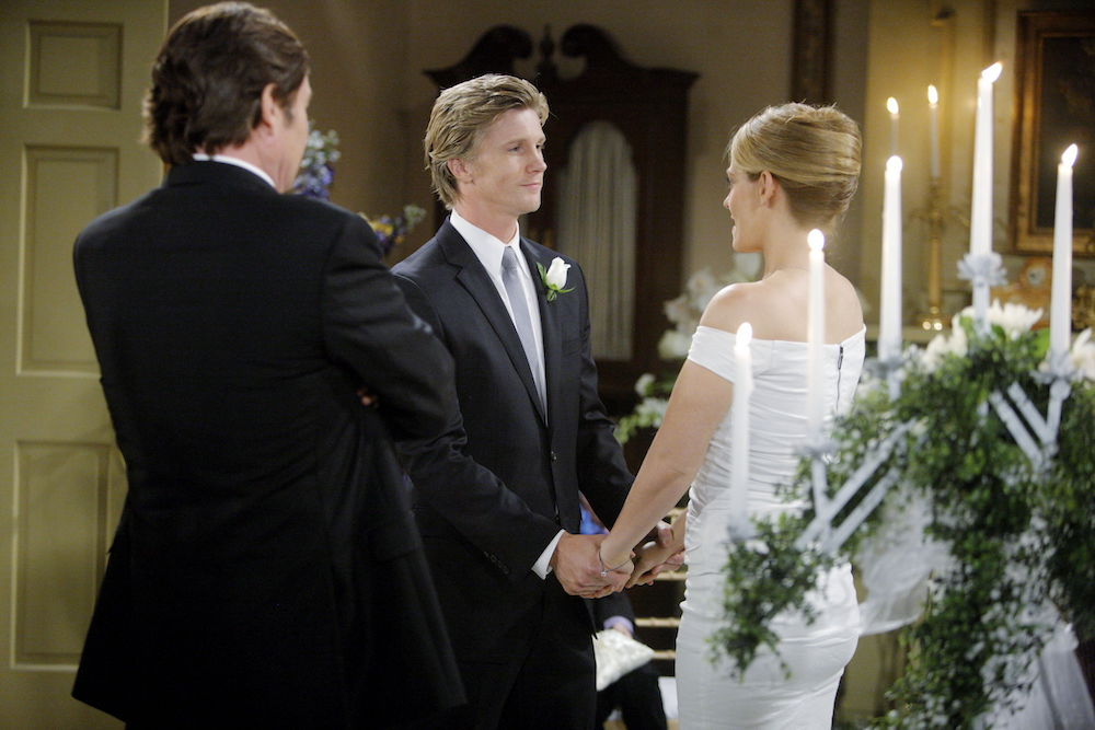 The Young and The Restless JT Mac Wedding