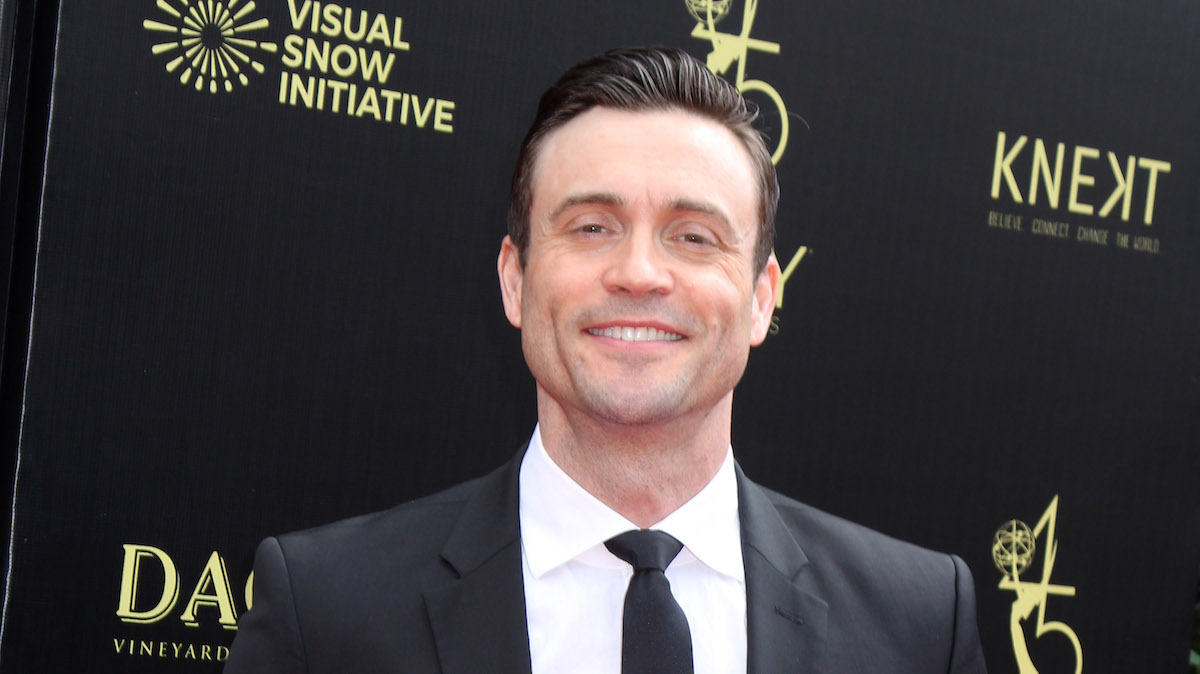 Daniel Goddard Daytime Emmys 2018