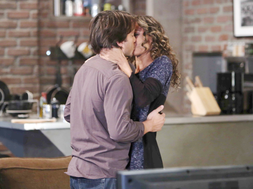 Dante and Valerie Kiss on GH - JPI