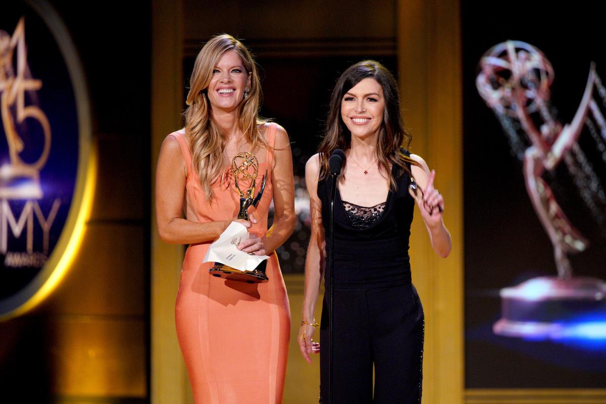 Michelle Stafford Finola Hughes Daytime Emmys 2018