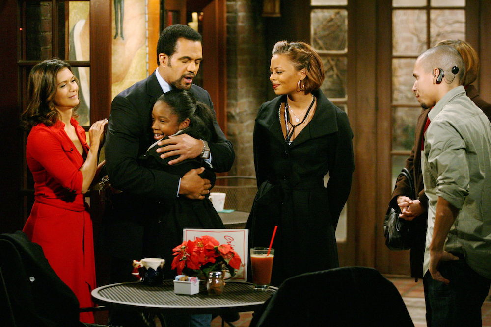 The Young and The Restless Karen Neil Ana Tyra Devon