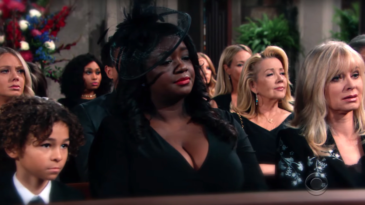 The Young and The Restless Neil funeral