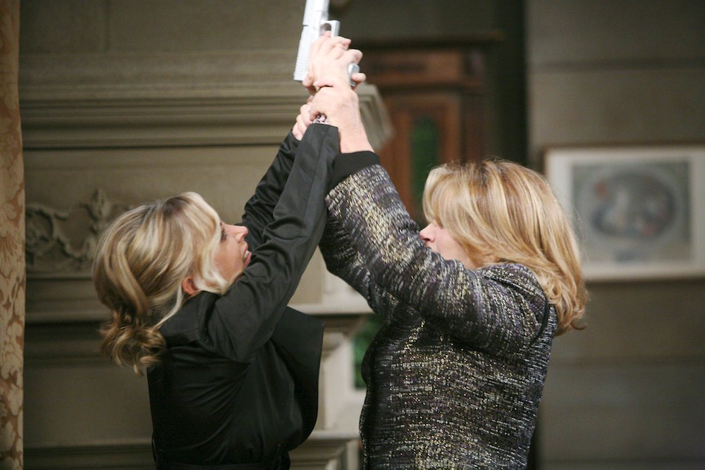 Days of Our Lives Marlena and Kristen fight