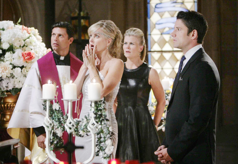 Days of Our Lives Kristen's Wedding interrupted