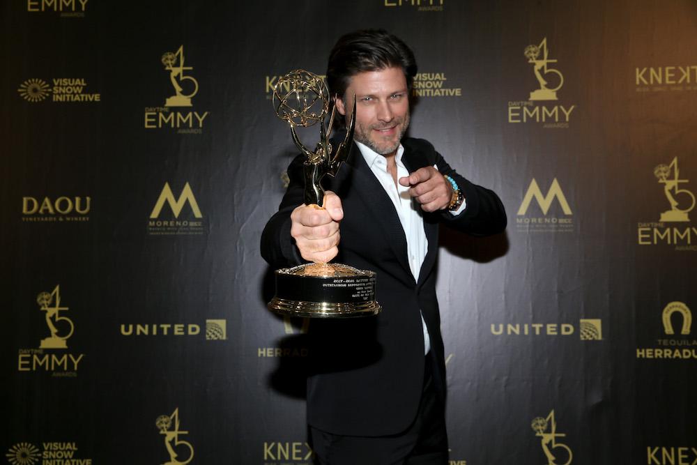Greg Vaughan Daytime Emmy Award 2018