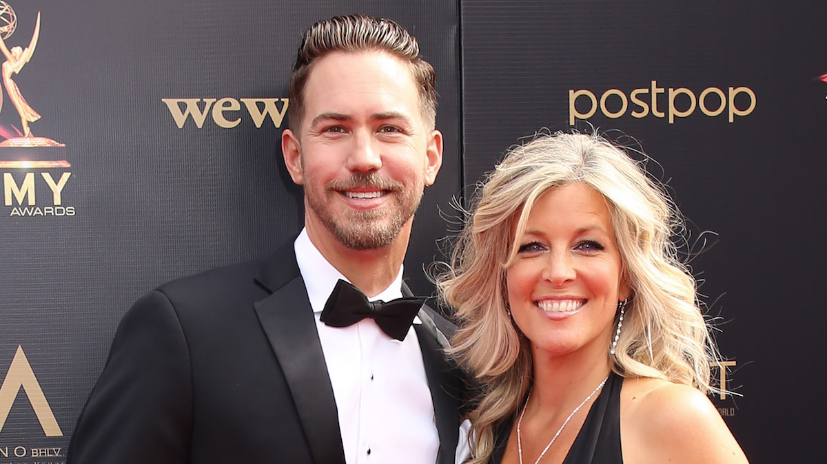 Wes Ramsey Laura Wright Emmys 2019