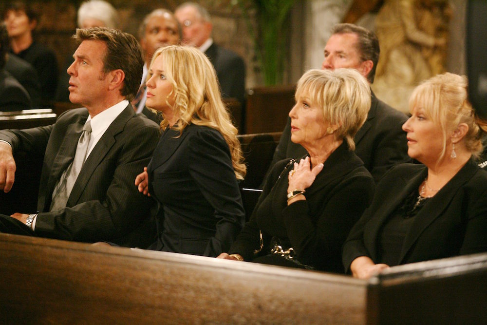 The Young and The Restless Katherine funeral