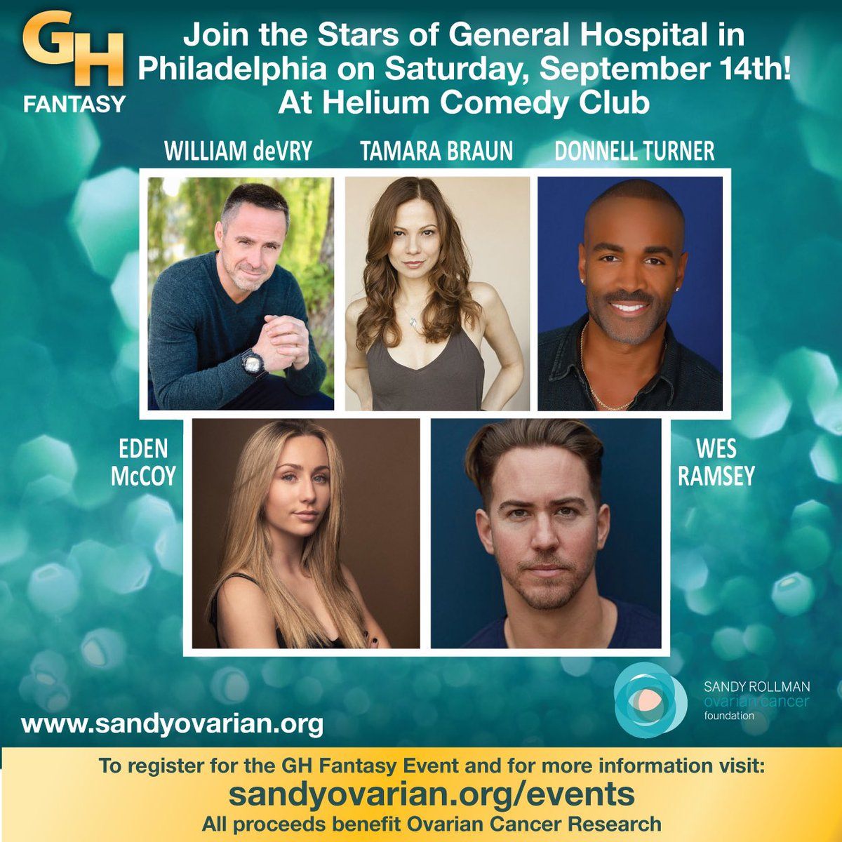 GH Fantasy Sandy Rollman Foundation promo