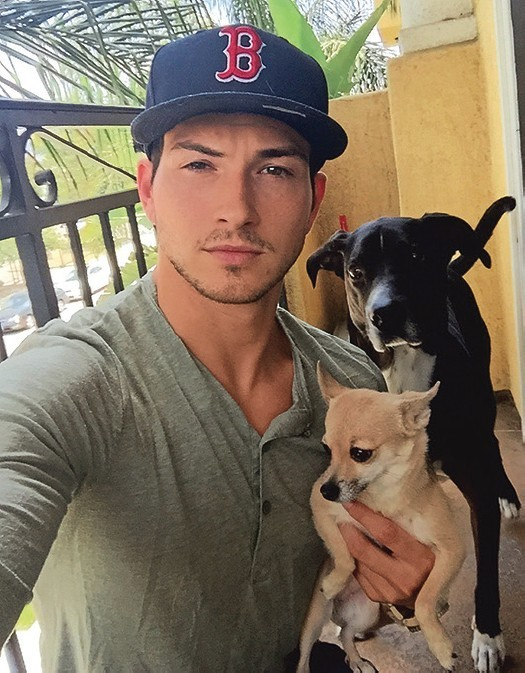 DAYS Robert Scott Wilson and dog Lola
