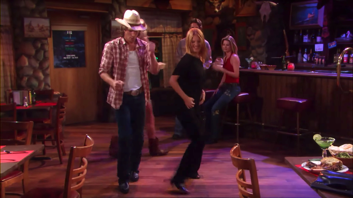 The Young and The Restless Phyllis dancing