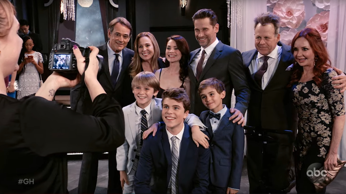 General Hospital Webber Baldwin family