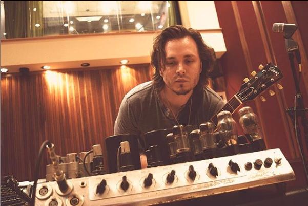 Jonathan Jackson music studio