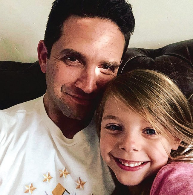 Brandon Barash daughter Harper