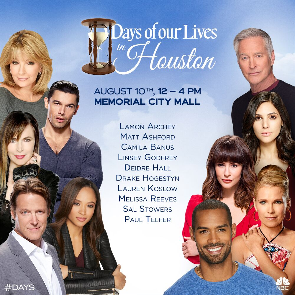 Days of Our Lives Houston Texas Fan event