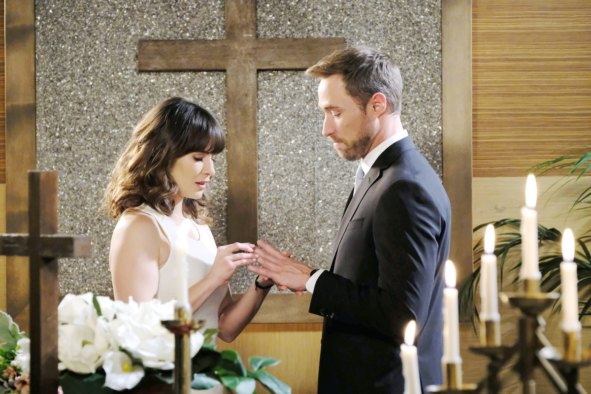 Days of Our Lives Sarah Rex wedding