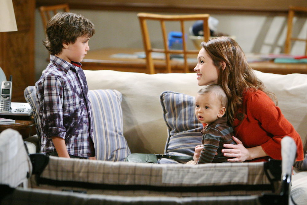 General Hospital Cameron, Liz, and Aiden