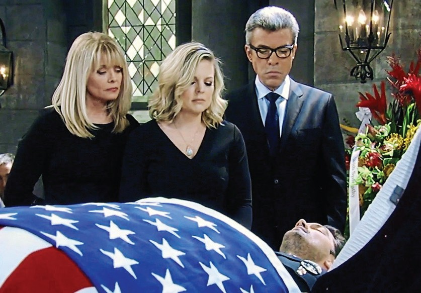 General Hospital Nathan's funeral