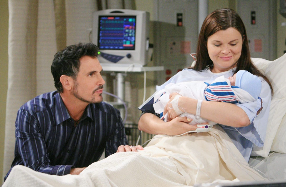 The Bold and The Beautiful Bill Katie baby Will