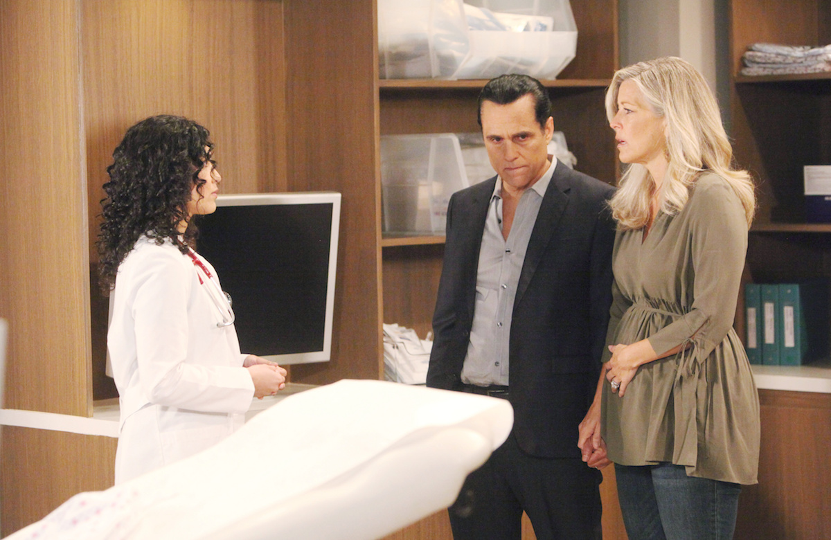 General Hospital doctor Sonny Carly