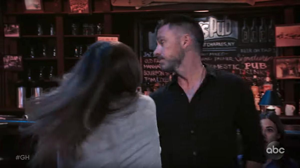 General Hospital Kim slaps Julian