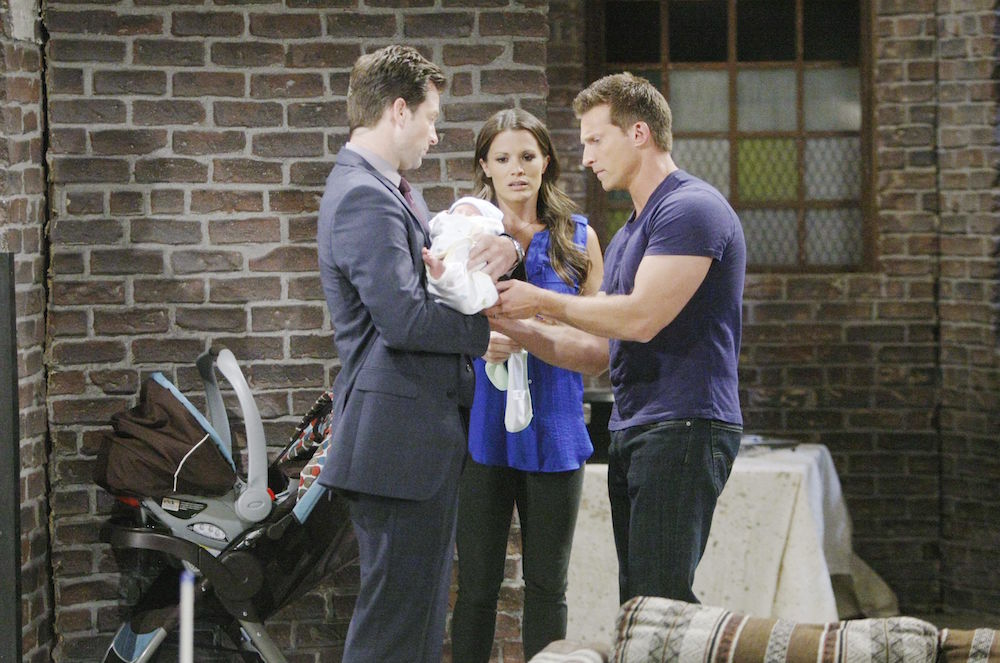 The Young and The Restless Adam Chelsea Connor Dylan