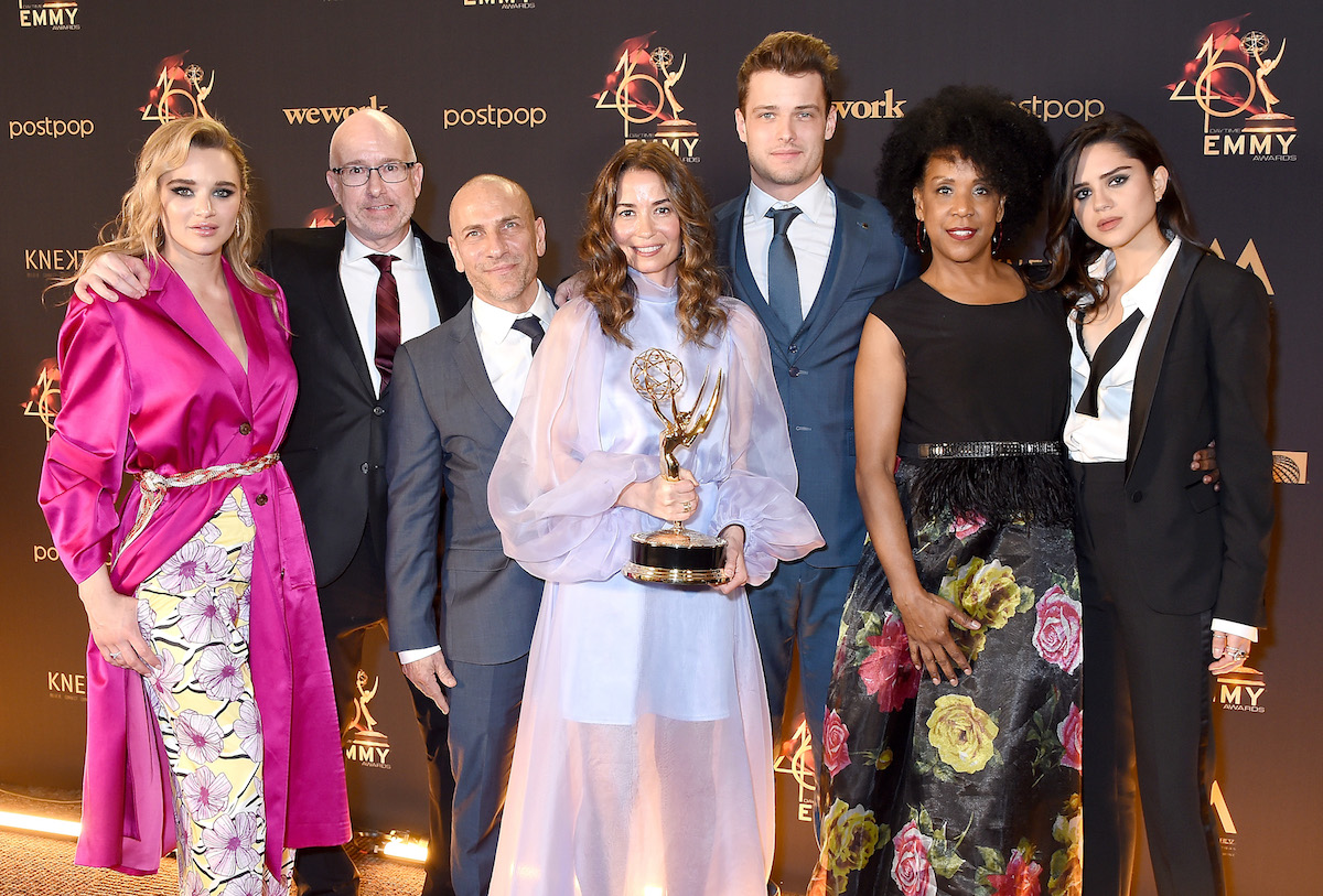 The Young and The Restless costume Daytime Emmy win
