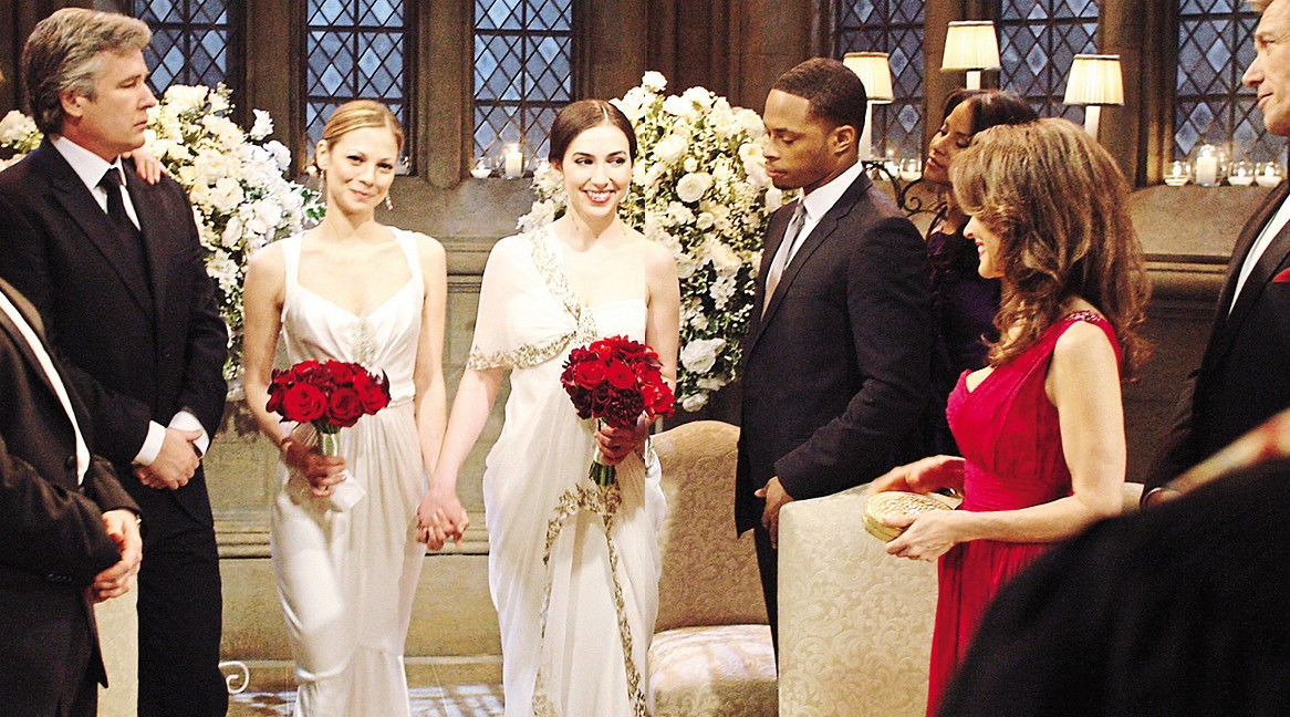 All My Children Reese Bianca wedding