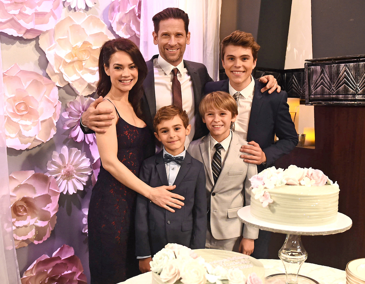 General Hospital Liz Franco Cameron Jake Aiden