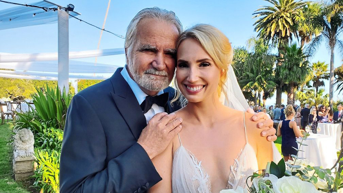 John McCook daughter Molly wedding