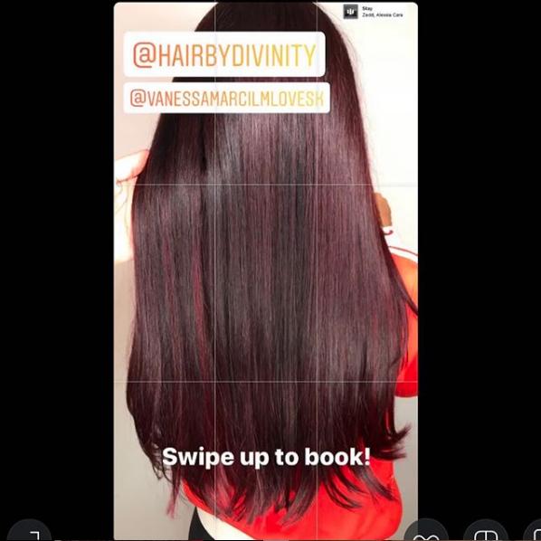 Vanessa Marcil Hair color
