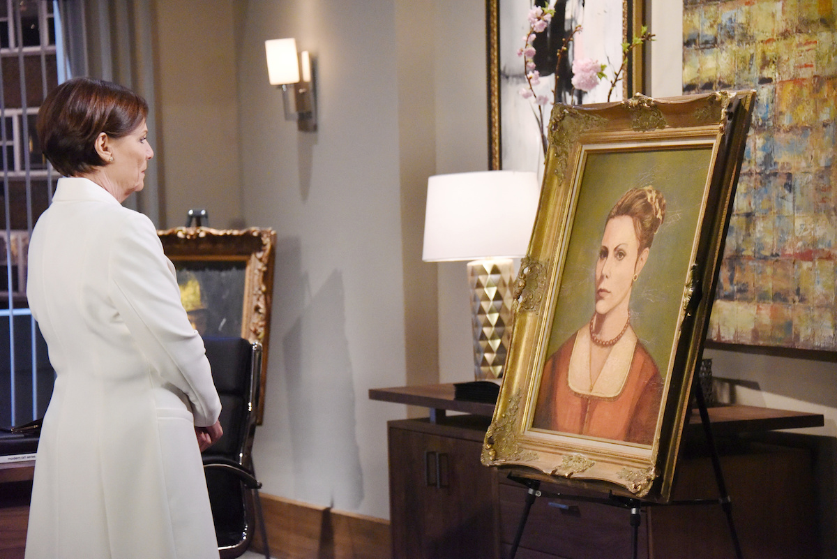 General Hospital Tracy painting