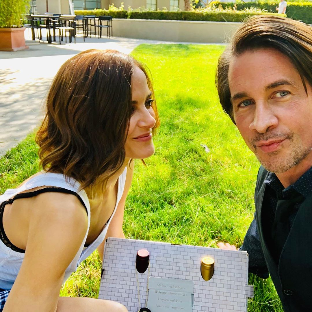 Rebecca Budig Michael Easton